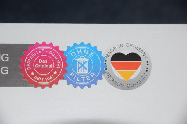 hergestellt in Germany