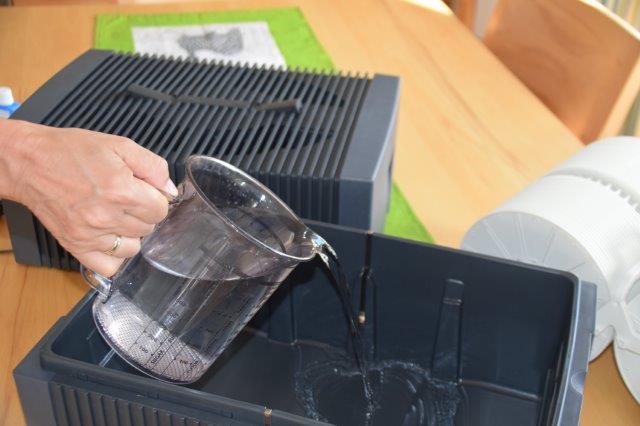 Wasserbefüllen Luftwäscher