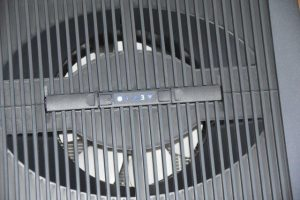 Blick auf den Ventilator