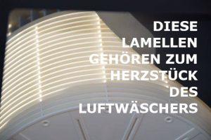 Lamellenplatten Luftbefeuchtung