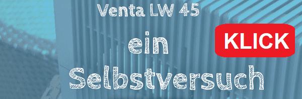 Venta LW 45 Luftbefeuchter Selbstversuch